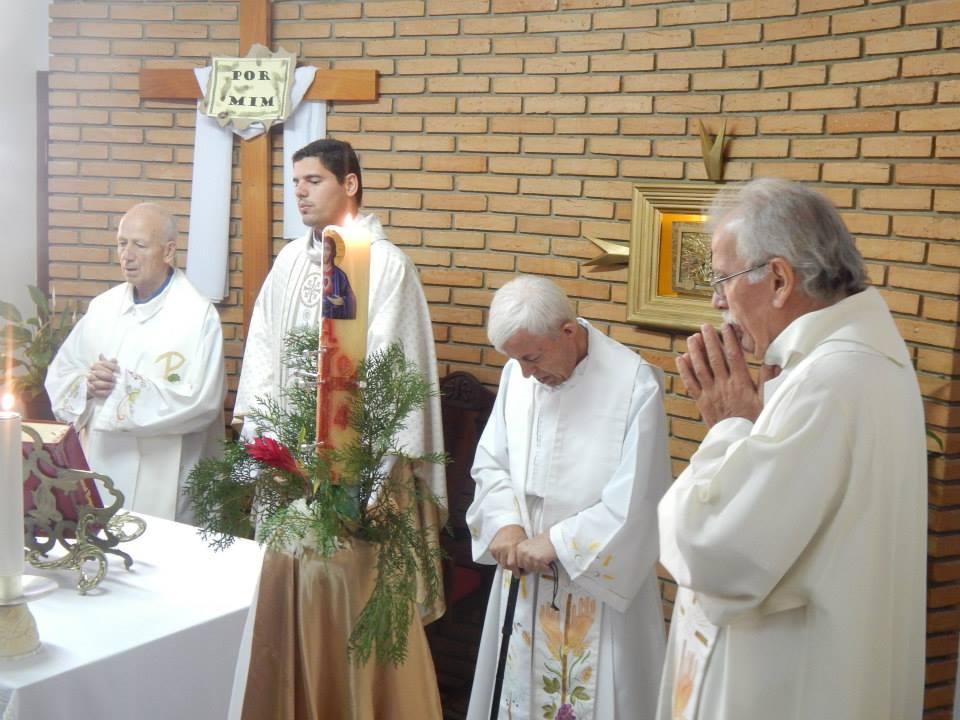 Padres da Congregação Jesus Sacerdote (Fotos: Luciana Pereira/Agregada)